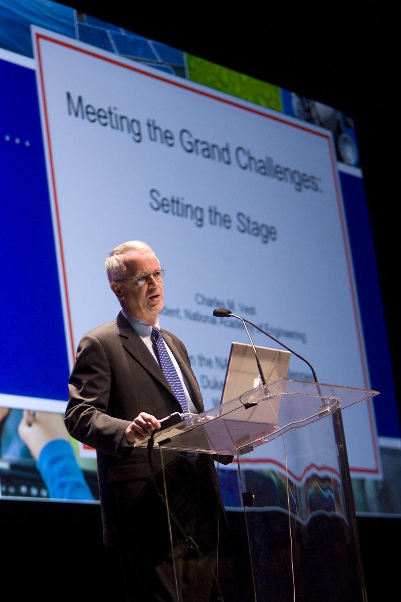 Plenary Talk Charles Vest Summit Series On The Nae